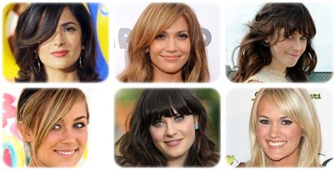 find the perfect bangs for your face shape instyle com perfect side bangs for your face shape www pixshark com
