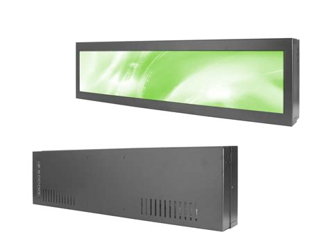 Ultra Wide Monitor 19 quot ultra wide stretched bar lcd monitor 19 quot stretched bar lcd 19 quot ultra wide display screen