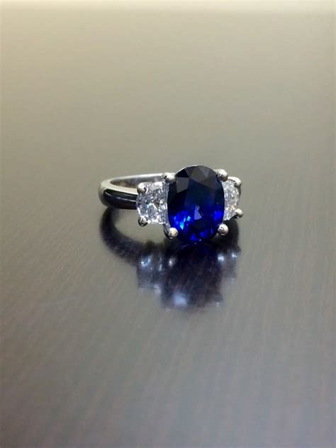 Sapphire Safir Ceylon ceylon blue sapphire platinum wedding ring