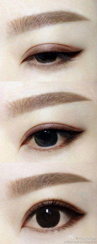 korean eyebrow makeup tutorial 76 best kpop makeup images on pinterest asian makeup