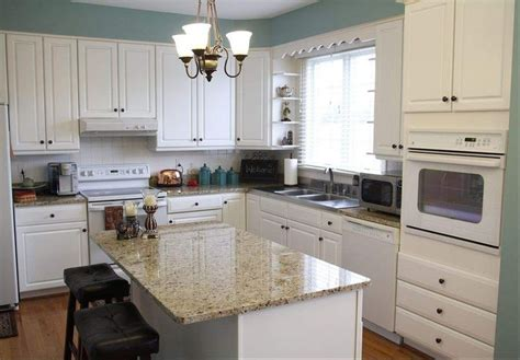 Kitchen Ideas White Appliances Kitchens With White Appliances White Cabinets And Appliances Give The Kitchen A Clean Feel