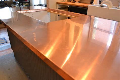 copper kitchen countertops a home in the renovate copper counters kitchen