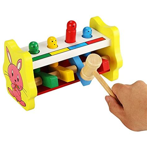 pound a peg wooden bench awardpedia youtop wooden pounding bench pound a peg toy