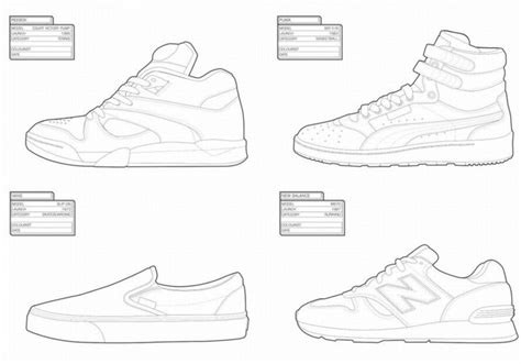 coloring pages of vans shoes sneaker coloring book sneakers pinterest coloring