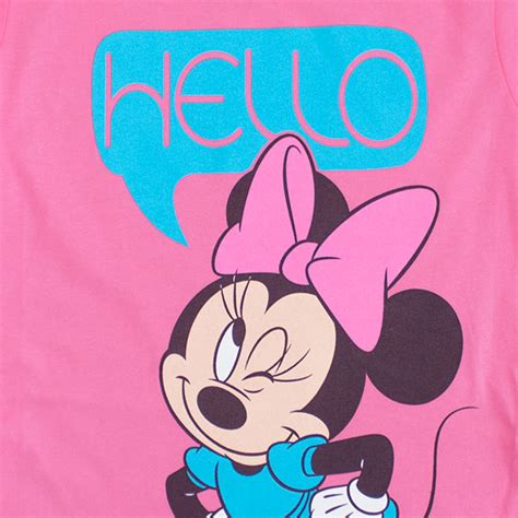 Mouse Hello disney minnie mouse hello youth 7 16 t shirt tvmoviedepot