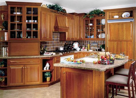 Wood Kitchen Design Modern Wood Kitchen Decosee