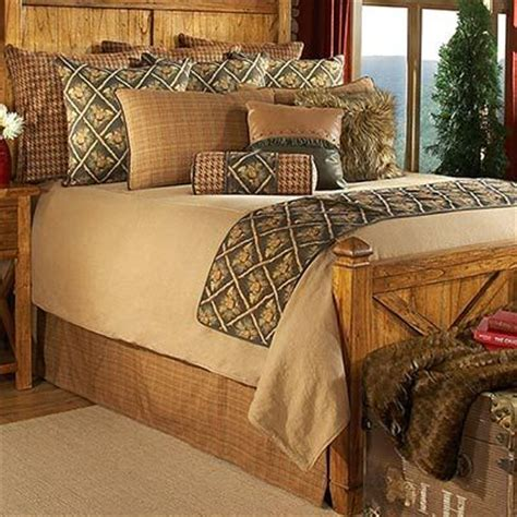 Pine Cone Bedding Set Spruce Pine Cone Bedding Sets Is A Coverlet Ensemble That Merges A Variety Of Solids And Plaids
