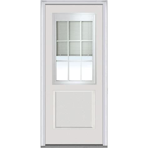 blinds for glass front doors odl 20 in x 64 in add on enclosed aluminum blinds in