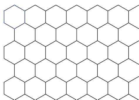 draw hexagon illustrator how to draw honeycomb pattern sketch coloring page