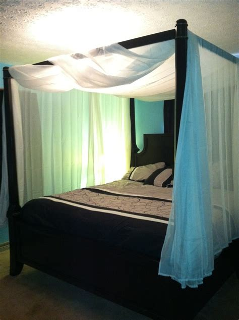 bed bath and beyond canopy bed curtains 3 23 13 we just completed our dream bed today martini