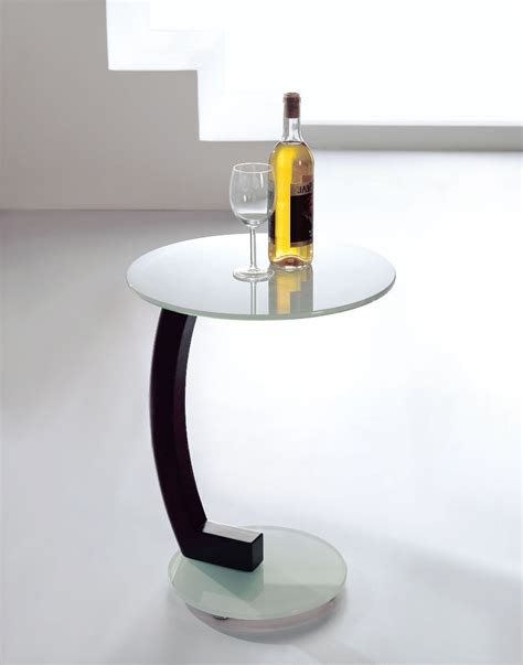white top side table the side table in white glass expand furniture