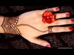 Designs easy henna mehendi simple