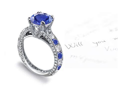 sapphire engagement rings estate vintage antique