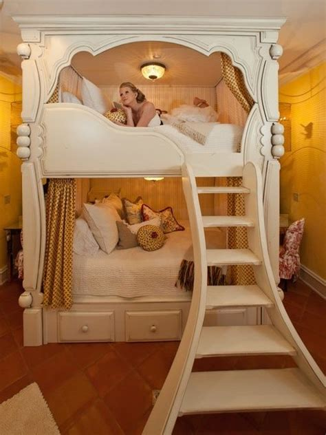 Princess Bunk Bed For Young Adult Diy Princess Bunk Beds House Design Decor