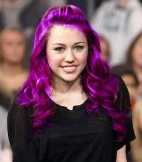 purple hair ninafashionlife purple hair color