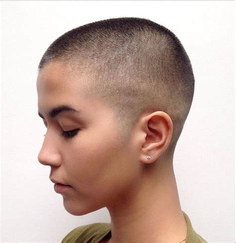 bald women head shave haircuts 1502 best buzzed bald and ultrashort beauties images on