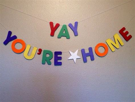 yay you re home banner welcome home banner on etsy 15