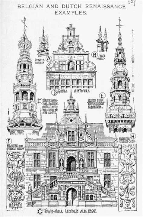 banister fletcher belgian and dutch renaissance exles and ornaments a