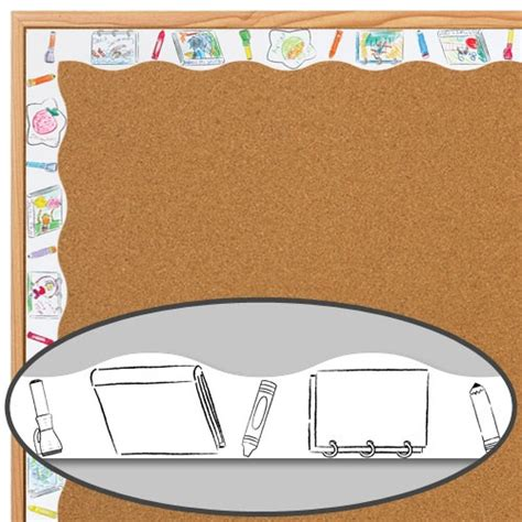ready to decorate bulletin board border templates