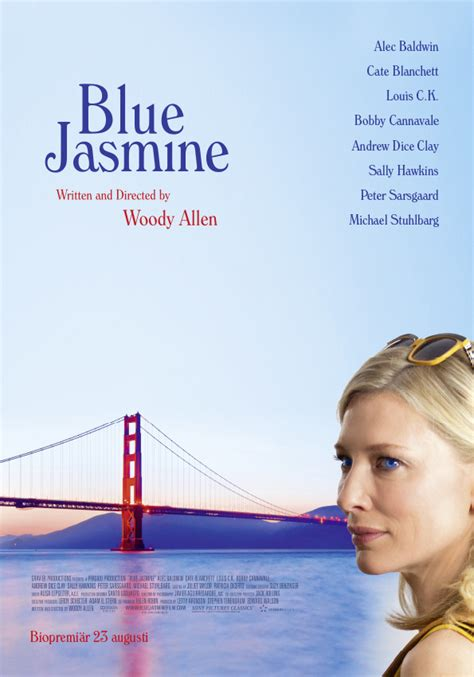 blue jasmine blue jasmine update new images swedish poster reviews