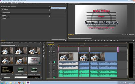 adobe premiere pro workspace non linear video editing software open source