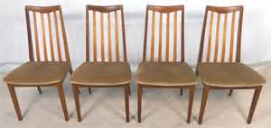 G Plan Dining Room Furniture Set Of Four G Plan Mahogany Teak Dining Chairs Sold