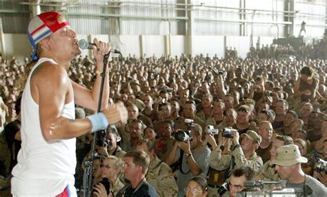kid rock uso entertaining the troops