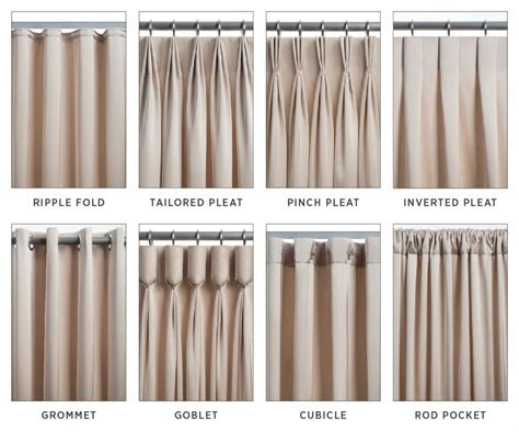 Types Of Drapery Pleats different types of pleats related keywords different types of pleats keywords