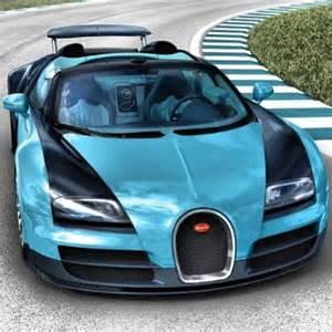 Blue Bugatti Blue Bugatti Veyron Wayne Style