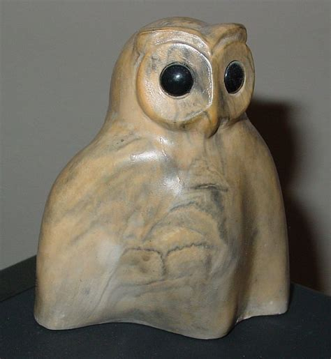 What Is Soapstone Carving Owls In And Culture