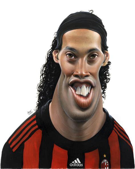 ronaldinho biography in english ronaldinho by achille sports cartoon toonpool