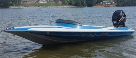 performance bass boats anybody else into vintage allison performance boats the