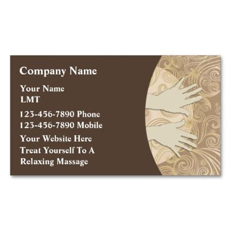 17 best images about massage business cards on pinterest