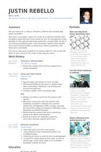 freelance writer editor resume sles visualcv resume
