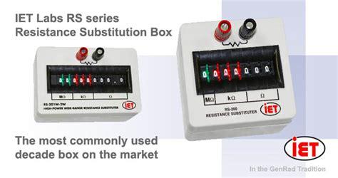 iet resistor box esi rs925d resistance decade resistance decades ac dc measuring instruments amtest test