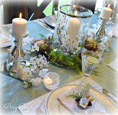 Spring Tablescape | dining delight how to set a pretty spring tablescape
