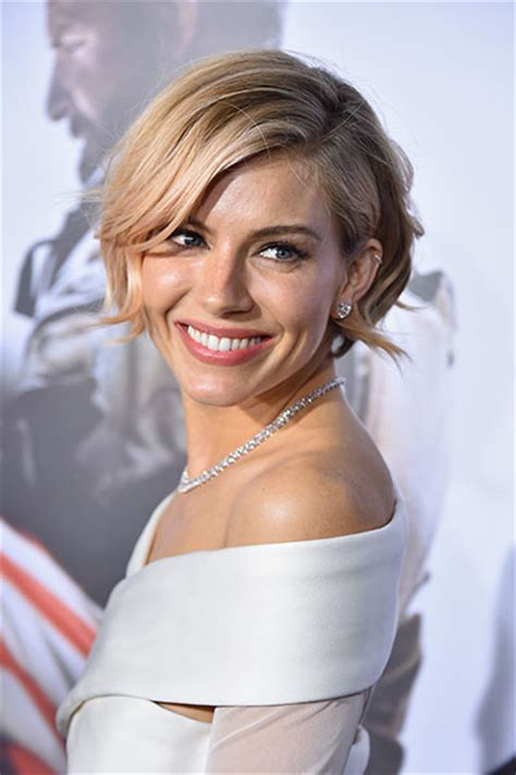 sienna miller  white hot  star studded premiere photo