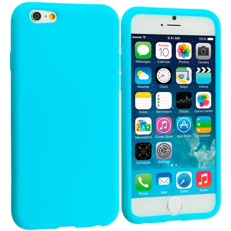 Casing Cover Hp Iphone 6 Iphone 6s Baby Skin Ultra Thin Bla 1 for apple iphone 6s 4 7 silicone rubber soft skin cover baby blue ebay