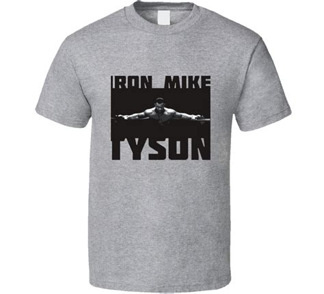 Tshirt Mike Tyson Boxing iron mike tyson cool fighting boxing t shirt