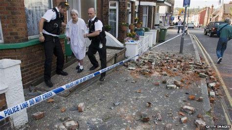 earthquake uk kent earthquake causes homes to shake