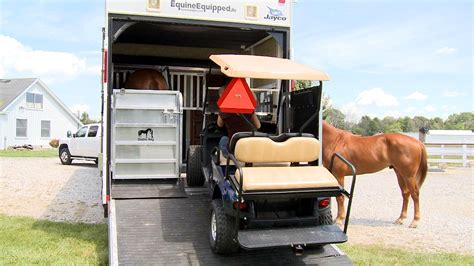 Garage With Living Quarters by Stable Boy Module Horse Stall For Your Toy Hauler Rv