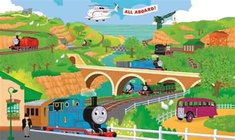 Thomas The Tank Wall Mural thomas amp friends xl wall mural stargate cinema