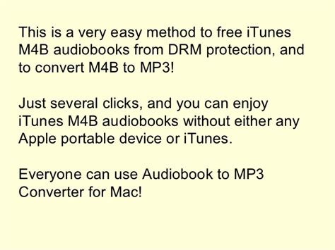 audio books m4b to mp3 converter the method to convert i tunes m4b audiobooks to mp3 on mac os