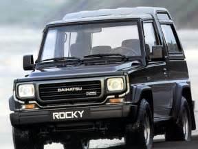 Daihatsu Rocky Diesel Daihatsu Rocky Wagon Dx Turbo Diesel 1991 Parts Specs