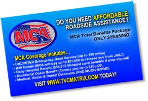 mca business cards motor club of america business cards indexprints