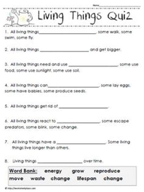 Characteristics Of Living Things Worksheet Answers by Free Worksheets Living And Non Living Things Worksheets