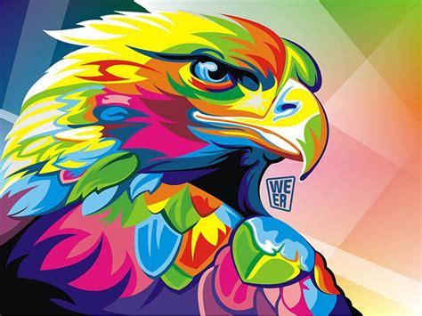 imagenes abstractas vectoriales coloridas ilustraciones vectoriales de animales