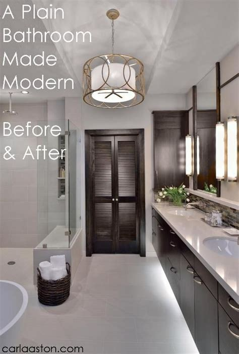 before and after master bathroom remodels before and after modern master bathroom remodel master