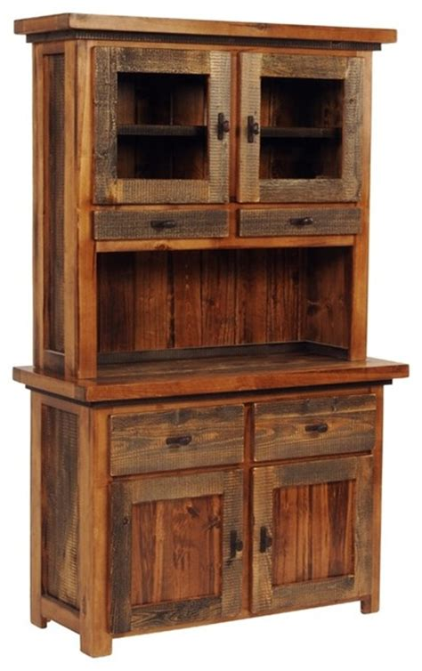 rustic buffet hutch 2 drawer rustic wood buffet w hutch bronze contemporary china cabinets and hutches