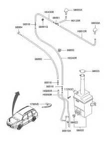 Hyundai Santa Fe 2005 Parts Windshield Washer For 2005 Hyundai Santa Fe Hyundai